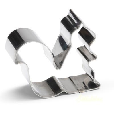 Kitchen Craft fém kiszúró 1db - Cipő 9cm