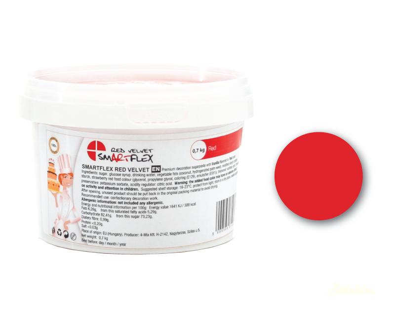 Smartflex Velvet 70dkg - Piros