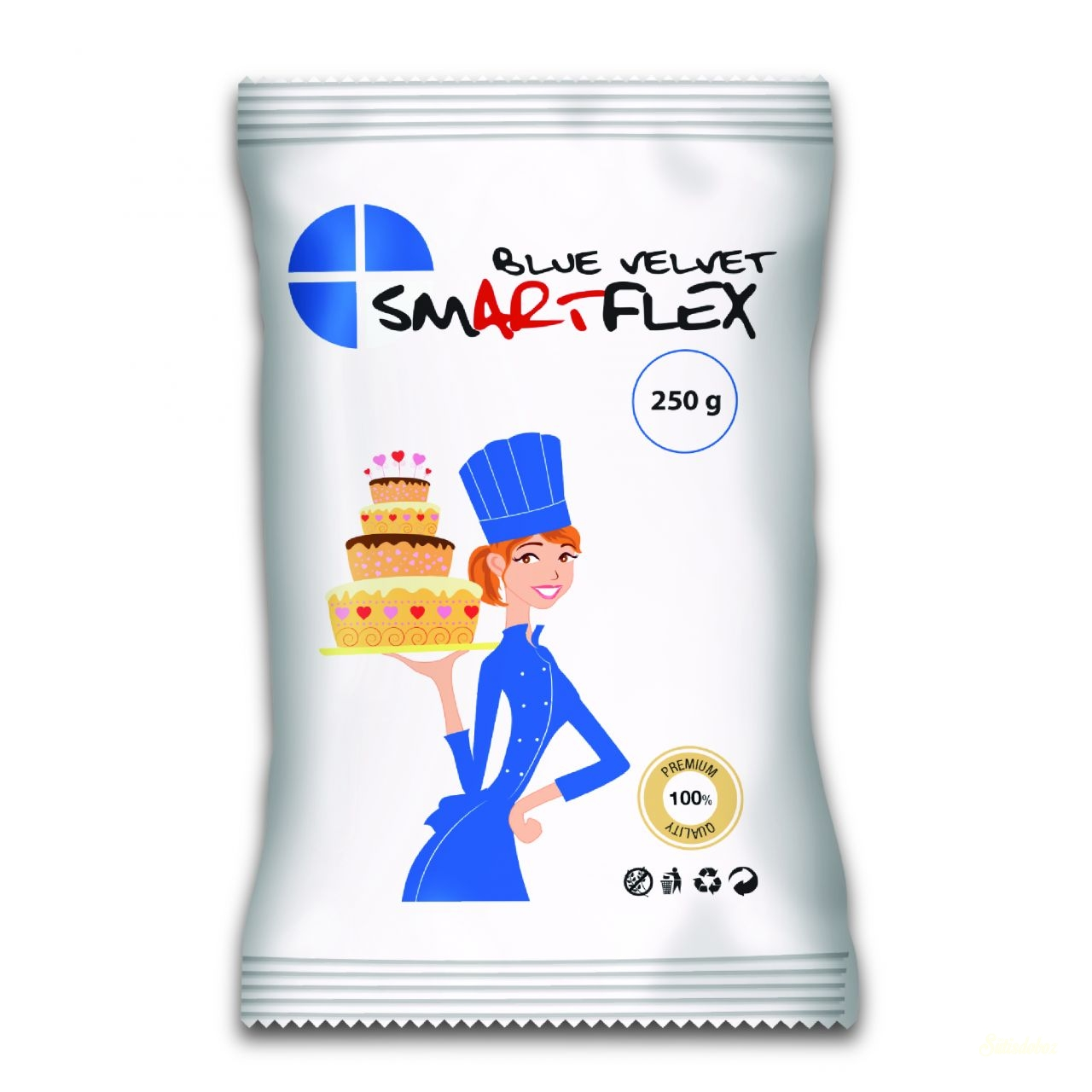 Smartflex Color Velvet massza 250g - Kék