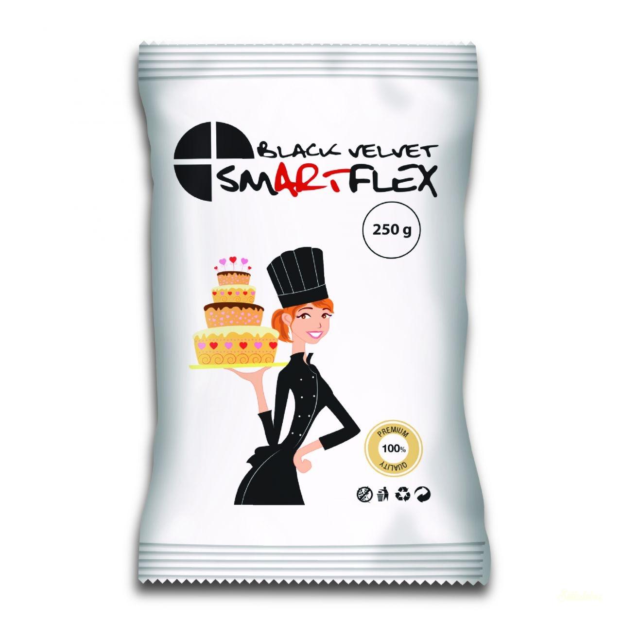 Smartflex Color Velvet massza 250g - Fekete