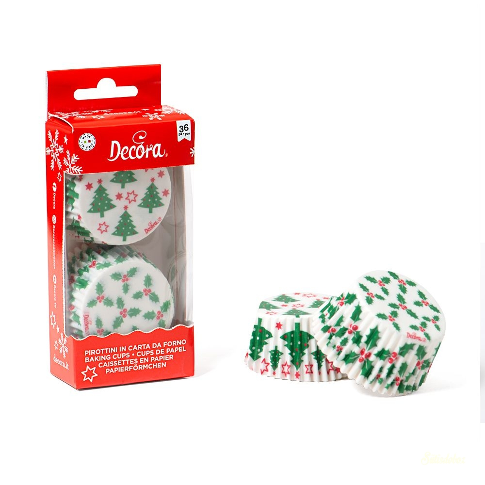 Decora muffinkapszli 36db - Karácsony