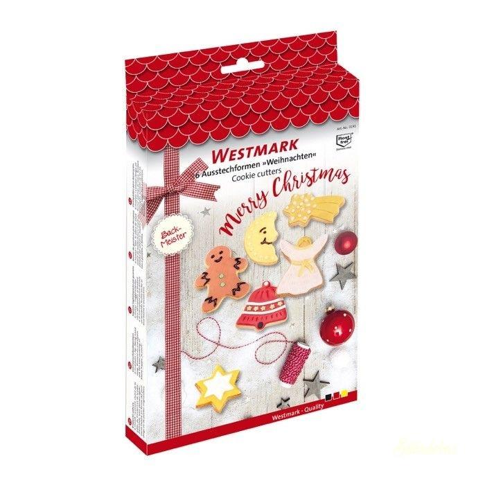 Westmark karácsonyi kiszúró készlet 6db