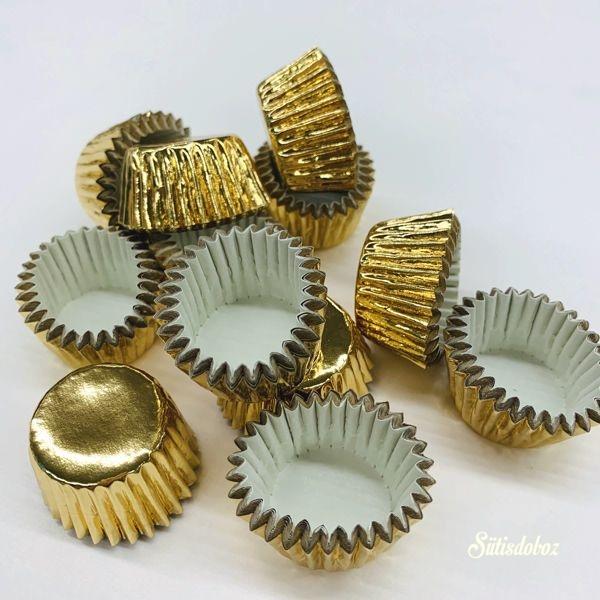 Decora arany bonbon kapszli 180db