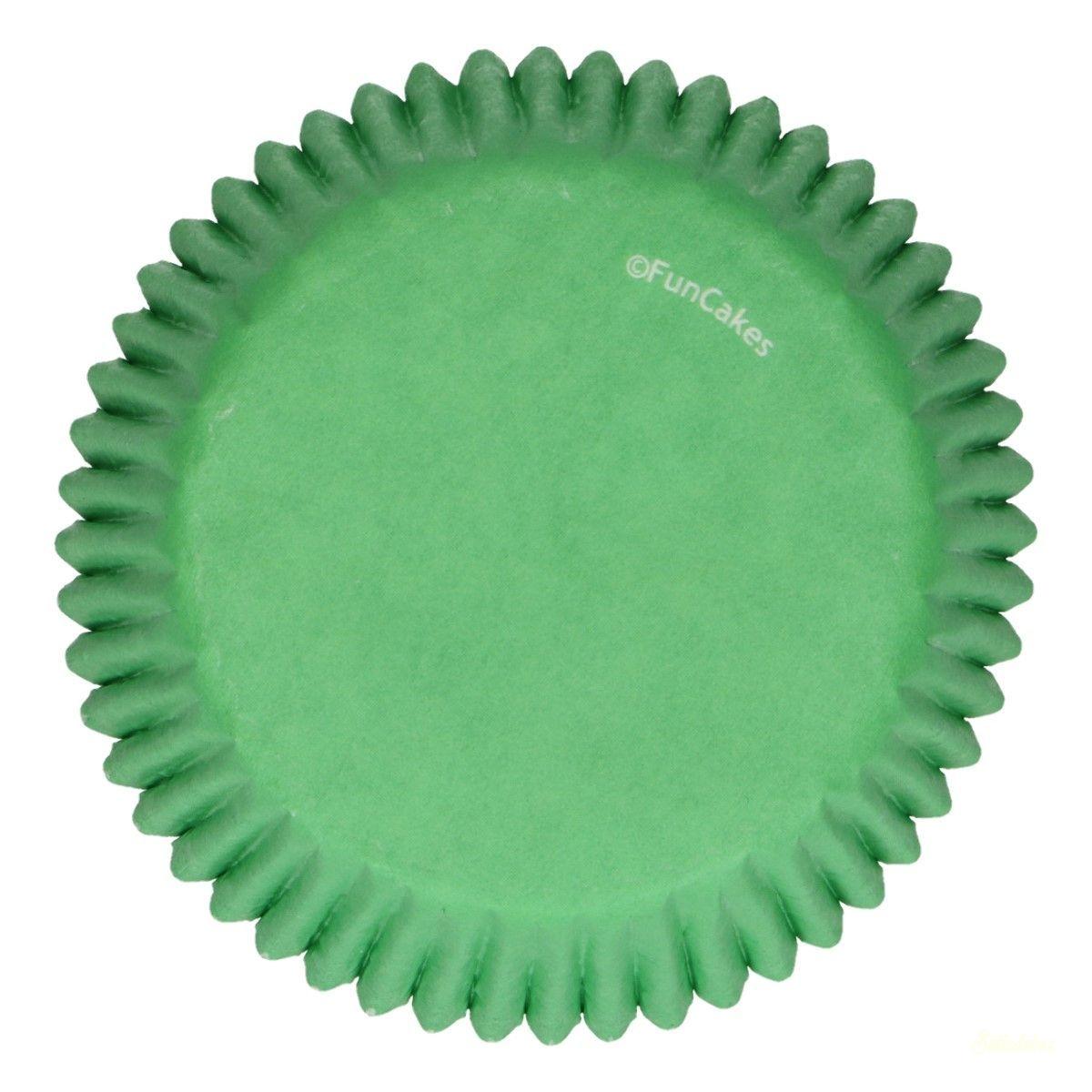Funcakes muffinpapír 48db - Levélzöld
