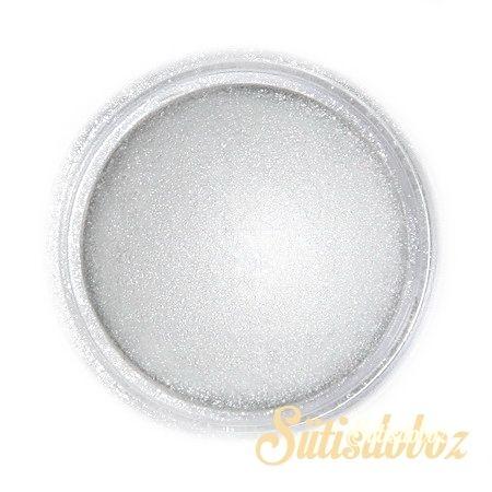 Fractal selyemfényû ételszínezõ por - Világos ezüst metál