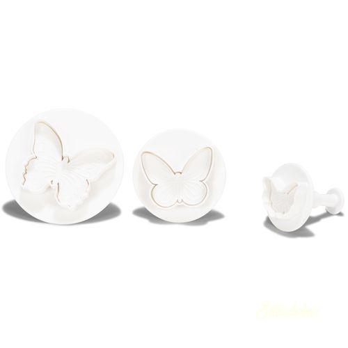 Patisse mûanyag kiszúró - Pillangó 3db-os