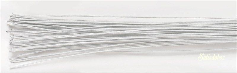 Decora Virágdrót - Fehér 26g