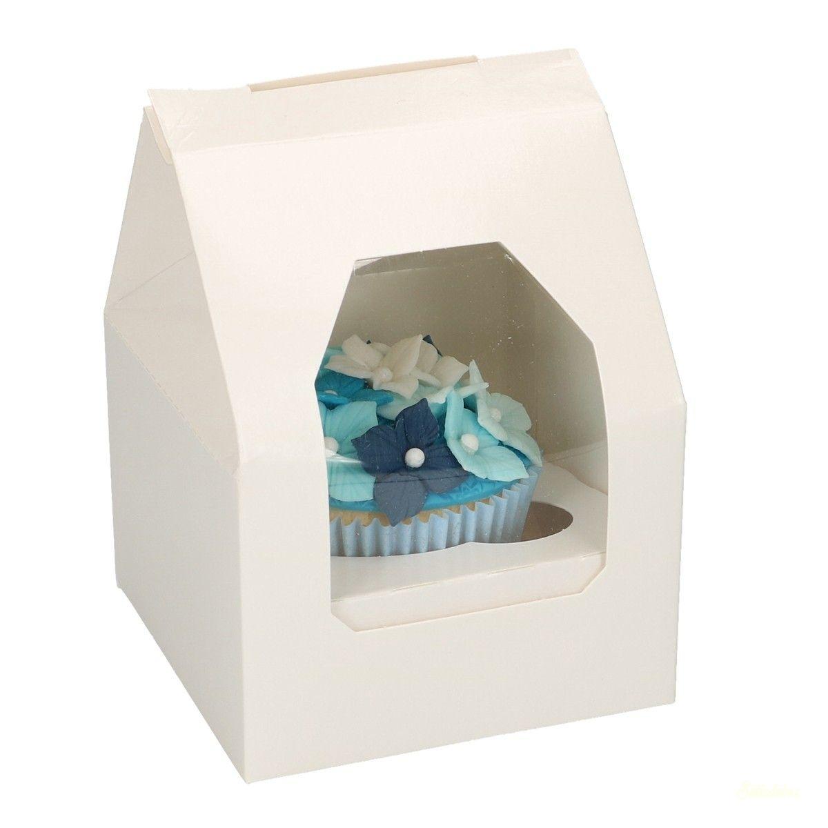 Cupcake tartó doboz 1db-os