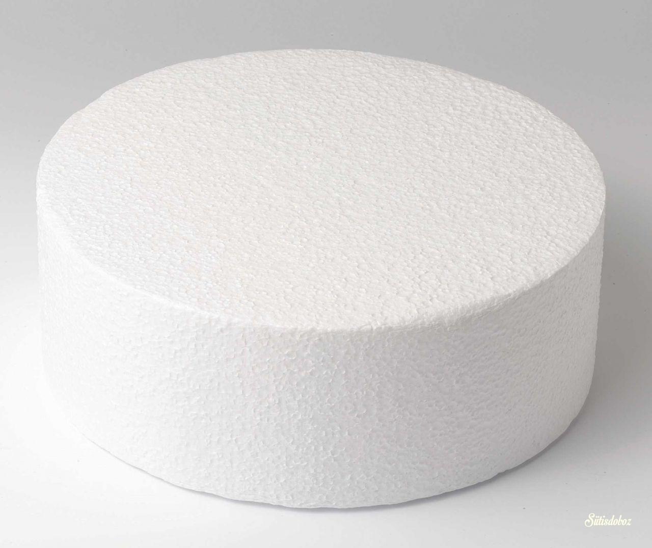 Hungarocell gyakorló torta 10cm magas - 15cm átmérõjû