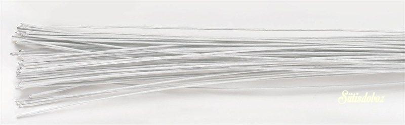 Decora virágdrót - Fehér 22g