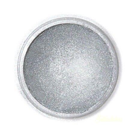 Fractal selyemfényû ételszínezõ por - Sötét metál ezüst