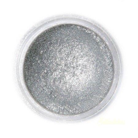 Fractal selyemfényû ételszínezõ por - Szikrázó sötét ezüst
