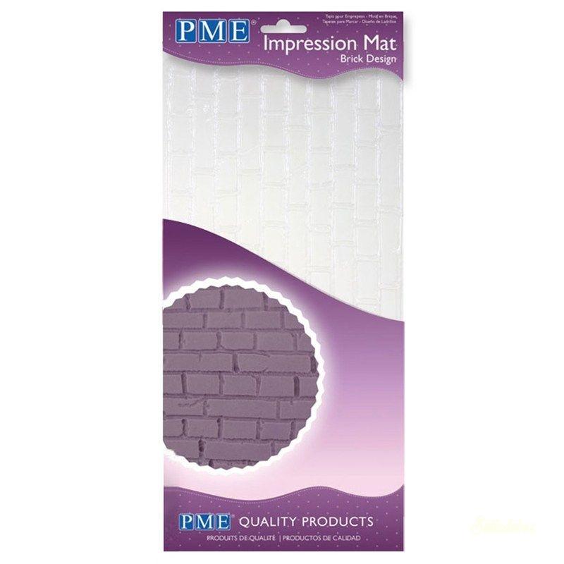 PME mintázó lap - Tégla