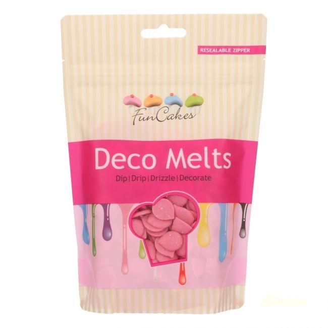 Funcakes Deco Melts 250g - Rózsaszín