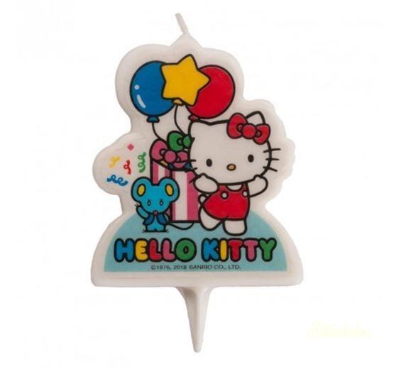 Gyertya - Hello Kitty 7 cm 1db