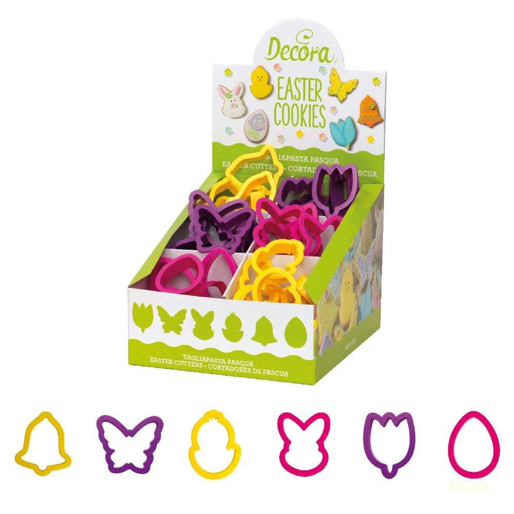 Decora húsvéti kiszúró 1db - Tulipán