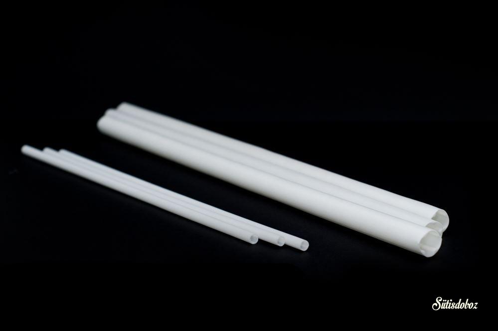 Műanyag tartórúd GYK 10db 40cm vastag