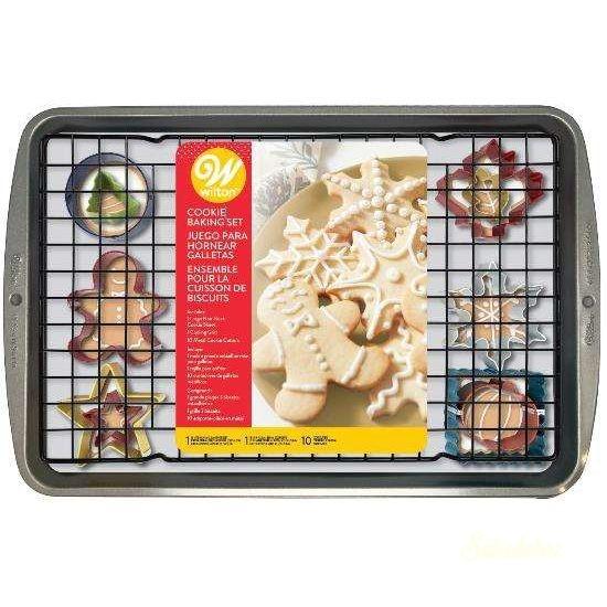 Wilton karácsonyi sütőszett - Tepsi, formák, rács
