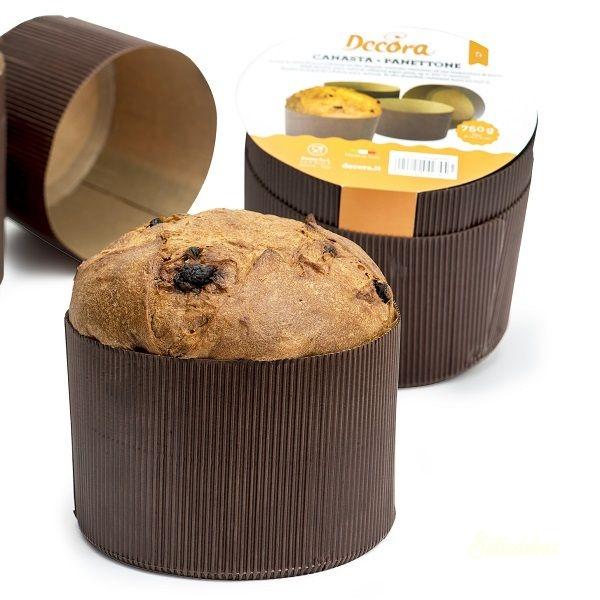 Decora papír sütőforma 5db - Panettone 500g