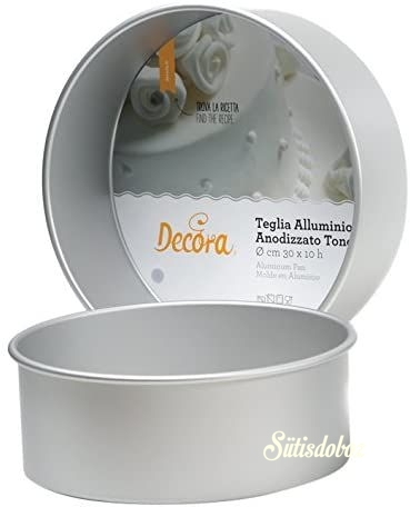 Decora alumínium sütőforma Kerek - 20cm