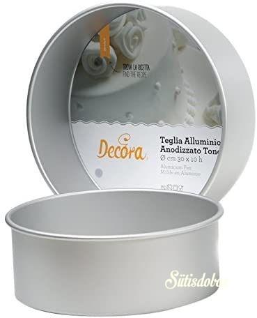 Decora alumínium sütőforma Kerek - 25cm