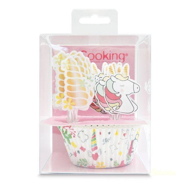 ScrapCooking muffin díszítő szett 24db-os Unikornis
