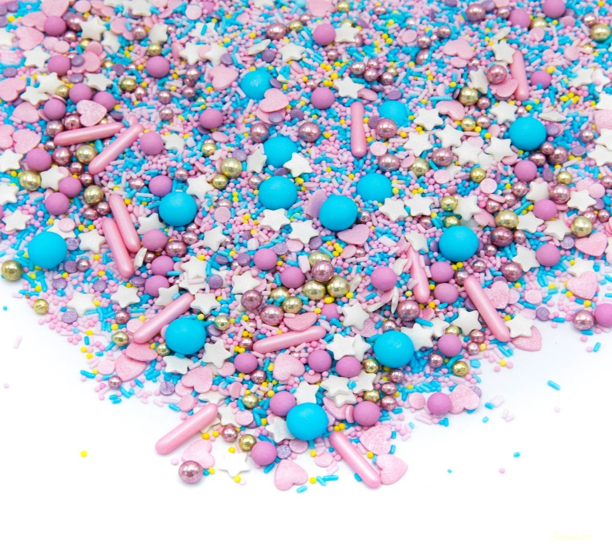 Happy Sprinkles szórócukor 90g - Cotton candy