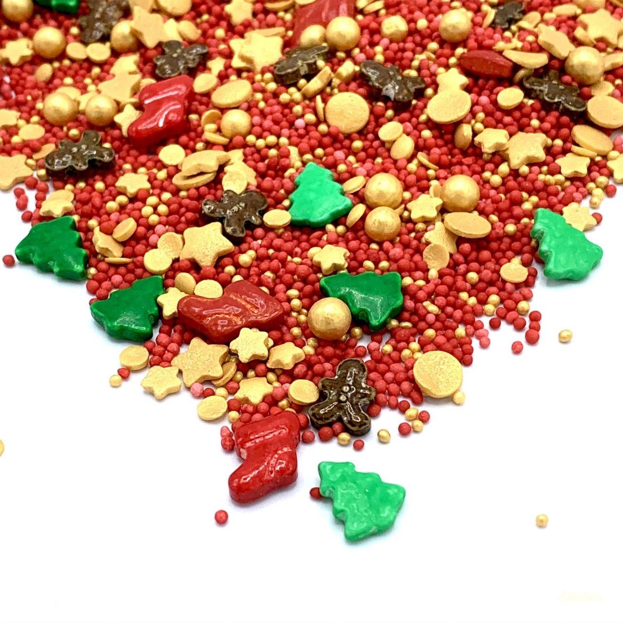 Happy Sprinkles szórócukor 90g - Santa's Favourite